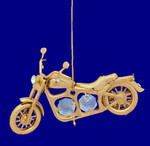 gold-plated-harley-motorcycle-ornament-harley-gift-with-crystals