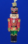 "Nutcracker General Glass Ornament, 4 3/4"", OWC #44043"
