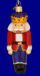 "Nutcracker Prince Glass Ornament, 5"", OWC #44007"