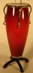 "Mini Conga Drum Ornament - 4 3/4"", Wood #HI581"