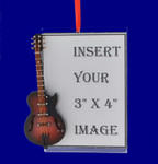 Picture Frame Gibson Guitar Ornament