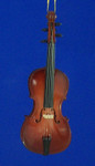 """Mini Cello Ornament - Wood, 5 1/4"""" Large #BG2278"""