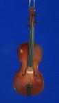 Cello Ornament Mini Cello 5 Wood Large