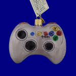 """Video Game Controller Glass Ornament, 3 x 3 3/4"""", OWC # 44094"""