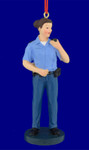 Female Police Officer Christmas Ornament 123313