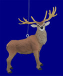 Red Deer Buck Ornament