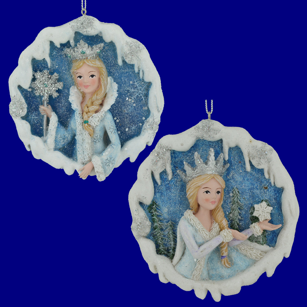 Frosted Kingdom Snow Queen Ornament Your Choice