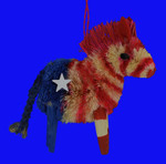 buri Democratic Donkey Ornament