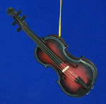 "Mini Fiddle Ornament - 5"" Large #BG2282"