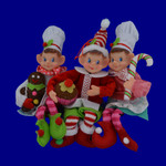 Baker Elf Doll Shelf Sitters or Ornaments