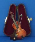 Mini Cello 4 pc Gift Set Decor Bow Case Stand 4 Small
