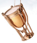 "Mini Timpani Drum Ornament - Kettle Drum, 2 1/2"" Tall #BG2642"