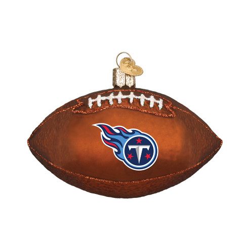 Tennessee Titans NFL Football Ornament 12606