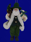 Irish Santa Doll Ornament Santas Workshop