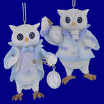 Pocket Watch Owl Ornaments C8907