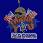 Marine Service Thank You Ornament 133174