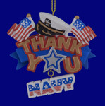 US Navy Thank You Ornament 133176