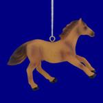 Light Brown Male Horse Ornament
