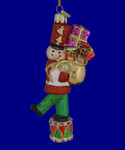 Toy Soldier on Drum Glass Ornament nb1192
