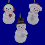 Loving Snow People Ornaments