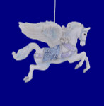 White Pegasus Ornament