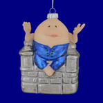 Humpty Dumpty Glass Ornament