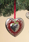 "Dated 2017 Our First Christmas Heart Ornament, 3"", ST2374930"
