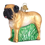 English Mastiff Glass Ornament 12527 Old World Christmas