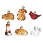 Mini Wildlife Animals Set 14025 Old World Christmas