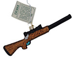 Hunting Rifle Glass Ornament 36228 Old World Christmas