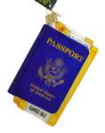 Passport Glass Ornament 36234 Old World Christmas