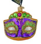 Mardi Gras Mask Glass Ornament 36241 Old World Christmas