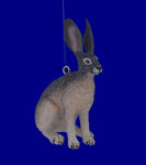 Small Jackrabbit Ornament Decor