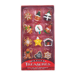 "Kitchen Themed Petite Miniature Ornaments, 12 pc Set, 1 - 1 1/4"", #KAH7524"