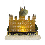 Light Up Downton Abbey Castle Ornament