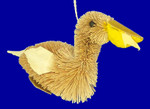 "Buri Animal Pelican Ornament, 3 1/2 x 5 1/4"", #JW2851"