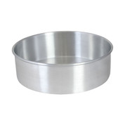 "10"" X 2"" LAYER CAKE PAN, ALUMINUM, 0.9mm"