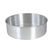 "10"" X 3"" LAYER CAKE PAN, ALUMINUM, 0.9mm"