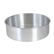 "12"" X 2"" LAYER CAKE PAN, ALUMINUM, 0.9mm"