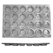 24 CUP MUFFIN PAN, 3.5 OZ EACH CUP