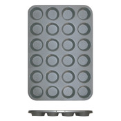 24 CUP MUFFIN PAN - NON STICK (0.4M/M), 3.5 OZ EACH CUP