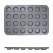 24 CUP MUFFIN PAN - NON STICK - SMALL CUP (0.4M/M), 1.5 OZ EACH CUP