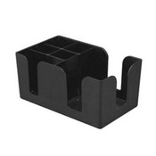 PLASTIC BAR CADDY 6 COMPARTMENT
