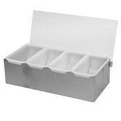 S/S 4 Compartment Condiment Dispenser