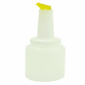 2 QT STORER AND POUR, YELLOW