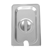 2/3 SIZE SLOTTED COVER FOR STEAM PANS