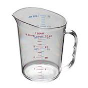 1 QT/ 1L POLYCARBONATE MEASURING CUP