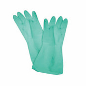 "12"" X 4 1/8"", LATEX GLOVES, MEDIUM, GREEN  (18 MIL)"