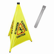"31"" POP-UP SAFETY CONE WITH STORAGE TUBE"