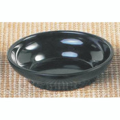 "4 1/2 OZ, 4"" SALSA DISH, BLACK"